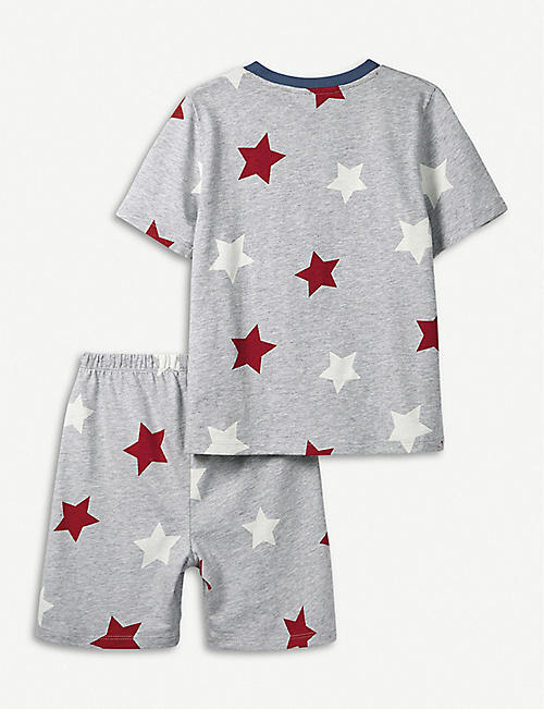 THE LITTLE WHITE COMPANY Star cotton pyjamas 1-6 years