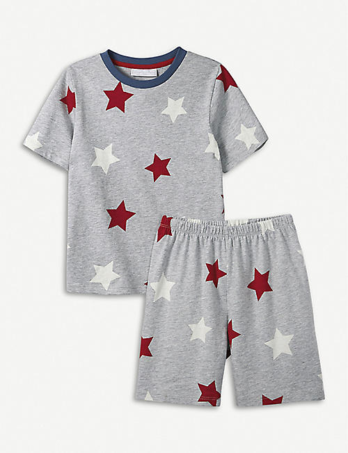 THE LITTLE WHITE COMPANY Star cotton pyjamas 1-6 years bb17223e6
