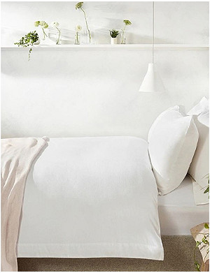THE WHITE COMPANY Portobello cotton-linen single duvet cover 140x200cm