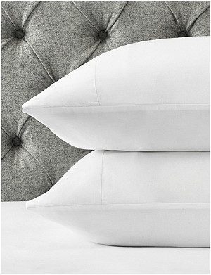 THE WHITE COMPANY Portobello cotton-sateen housewife pillowcase 50cm x 75cm