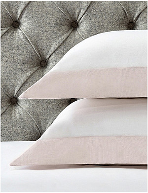 THE WHITE COMPANY Portobello cotton Oxford pillow case