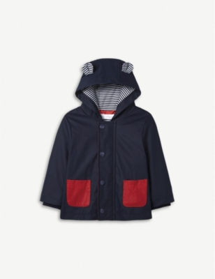 THE LITTLE WHITE COMPANY Rainy Plays jacket 0-24 months