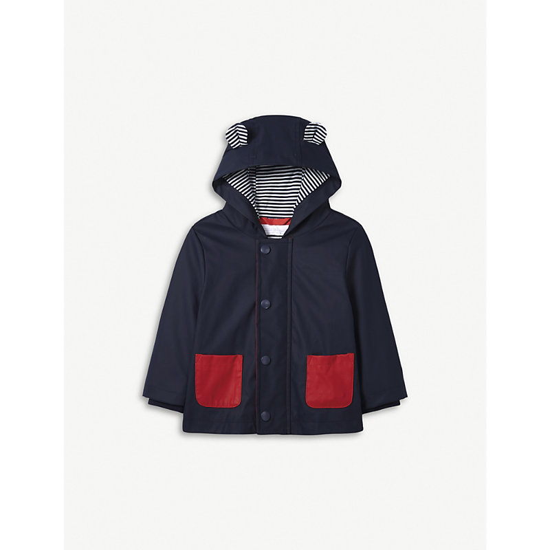 THE LITTLE WHITE COMPANY | Rainy Plays Jacket 0-24 Months | Goxip