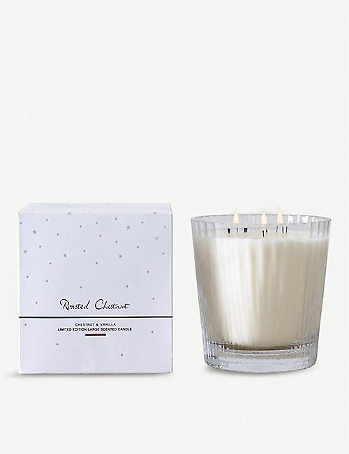 THE WHITE COMPANY Roasted Chestnut scented candle 150g