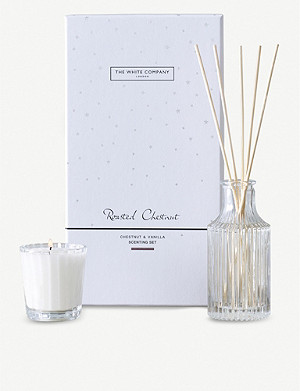 THE WHITE COMPANY Roasted Chestnut scenting set