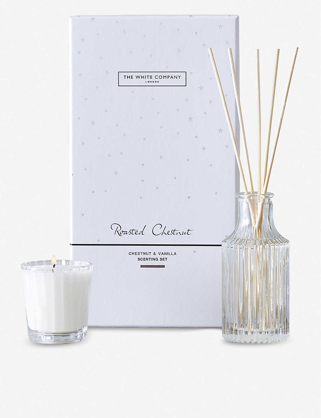 THE WHITE COMPANY: Roasted Chestnut scenting set