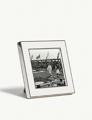 THE WHITE COMPANY Resin photo frame 3x3""