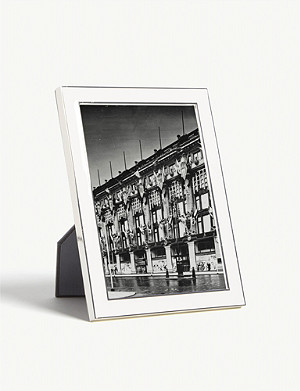 THE WHITE COMPANY Resin photo frame 5x7""
