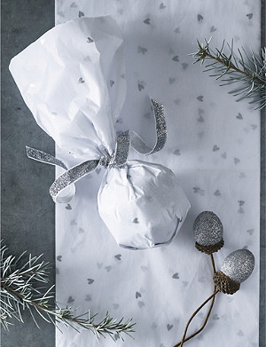 THE WHITE COMPANY Heart-printed tissue paper set of 5