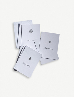 THE WHITE COMPANY Christmas greetings cards set of 12