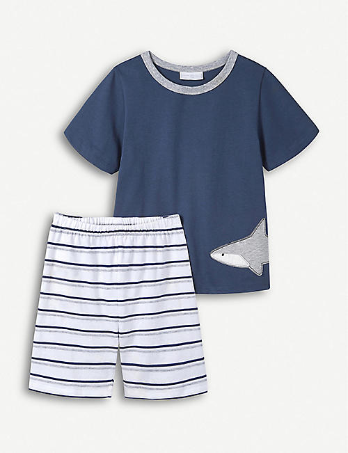 da7c1422c9b THE LITTLE WHITE COMPANY - Boys clothes - Baby - Kids - Selfridges ...