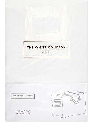 THE WHITE COMPANY Small cotton storage bag