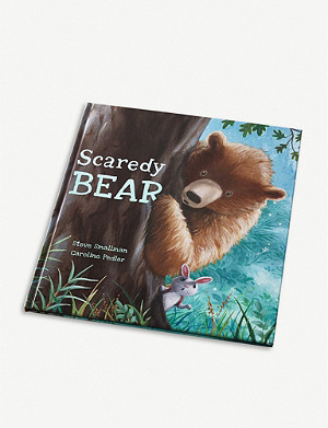THE LITTLE WHITE COMPANY Scaredy Bear book