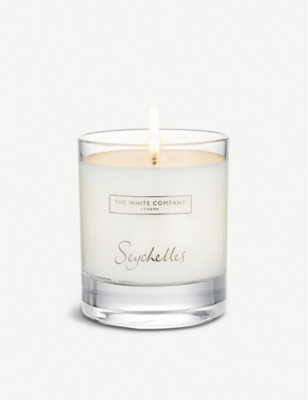 THE WHITE COMPANY Seychelles candle 140g