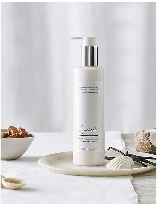 THE WHITE COMPANY Seychelles hand & nail cream