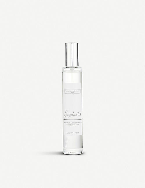THE WHITE COMPANY: Seychelles body and hair mist 50ml