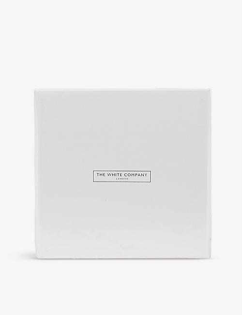 THE WHITE COMPANY: Fine sterling-silver plated frame 5 x 5''