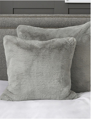 THE WHITE COMPANY Faux-fur cushion cover 50cm x 50cm