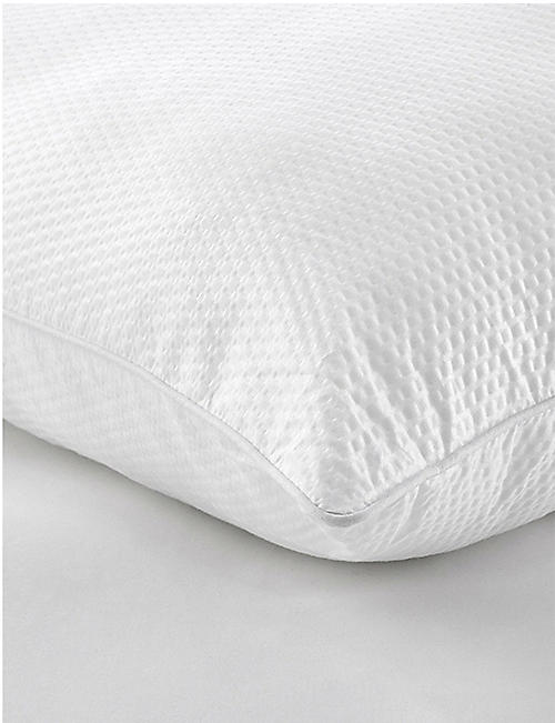 THE WHITE COMPANY Ultra Wash firm superking pillow 90cm x 50cm