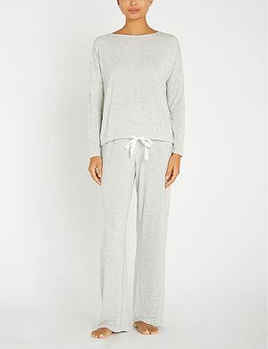 THE WHITE COMPANY - Hooded cotton-towelling robe  5b8129e3e