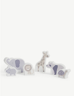 THE LITTLE WHITE COMPANY: Two by Two finger puppets set of five