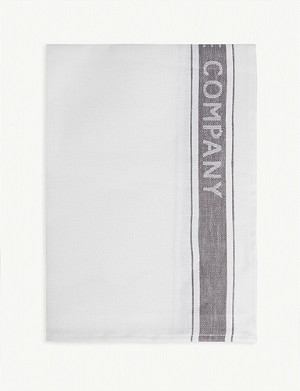 THE WHITE COMPANY Glass cloth linen tea towel 50cm x 70cm