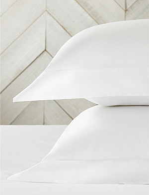 THE WHITE COMPANY Symons double-row cord cotton Oxford pillowcase 50x75cm