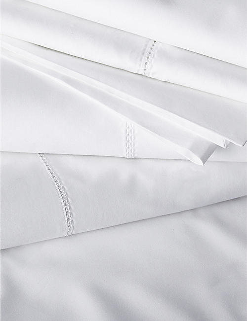 THE WHITE COMPANY Cavendish super king Egyptian cotton duvet cover 220x260cm