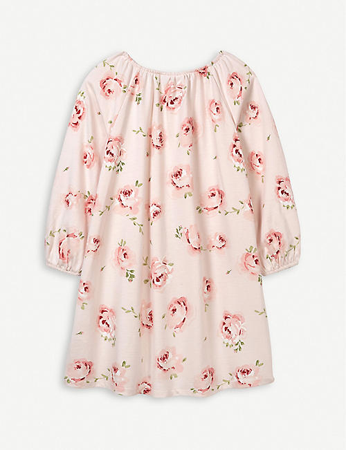 THE LITTLE WHITE COMPANY Vintage Rose cotton nightie 1-12 years