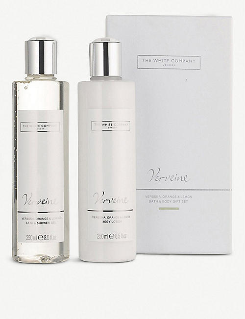 THE WHITE COMPANY Verveine bath and body set 500ml