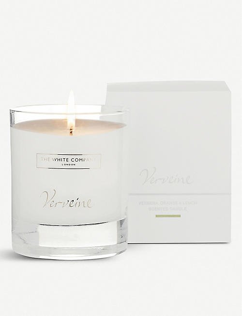 THE WHITE COMPANY Verveine scented candle 140g