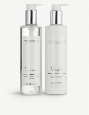 THE WHITE COMPANY Verveine hand and nail set 250ml