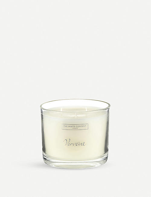 THE WHITE COMPANY Verveine large candle 740g