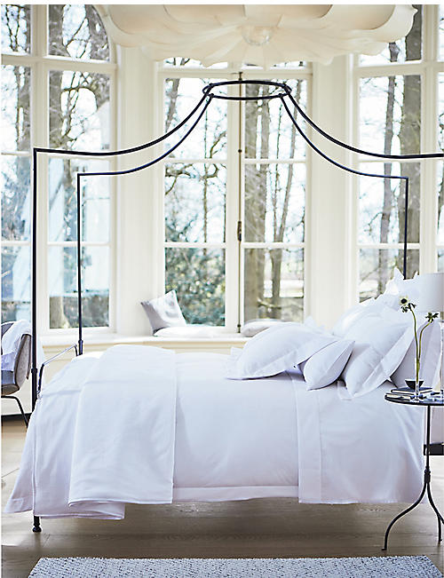 THE WHITE COMPANY Westborne cotton-piqué super king bed cover 270cm x 260cm