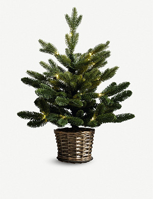 THE WHITE COMPANY Pre-lit artificial Christmas tree 1.5ft