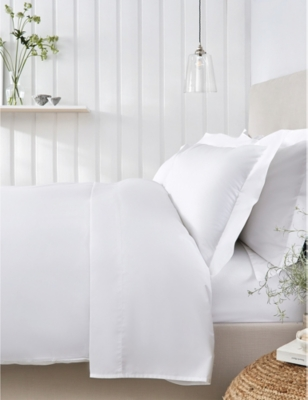 THE WHITE COMPANY Essentials egyptian-cotton king size duvet cover 225cm x 220cm