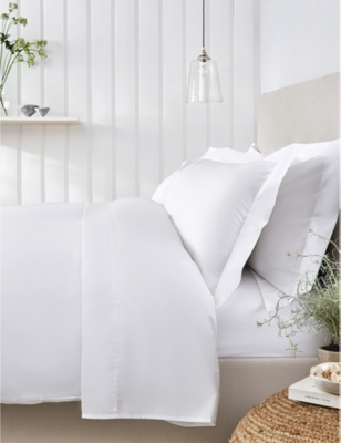 THE WHITE COMPANY Essentials egyptian-cotton superking duvet cover 260cm x 220cm