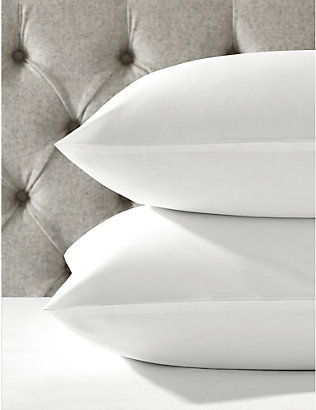 THE WHITE COMPANY: Egyptian-cotton pillow case