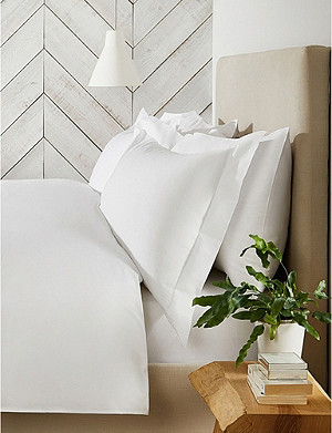 THE WHITE COMPANY Essentials egyptian-cotton super king pillowcase 50x90cm