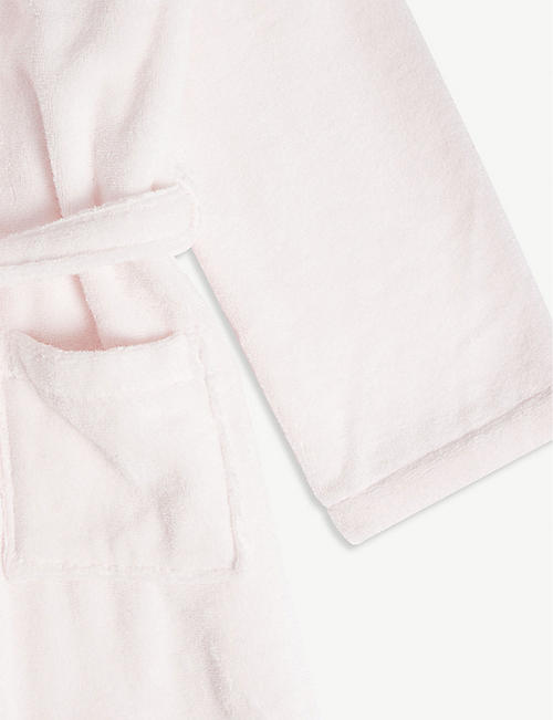THE LITTLE WHITE COMPANY Whisper hydrocotton robe 5-12 years