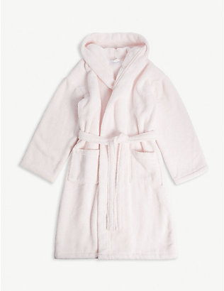 THE LITTLE WHITE COMPANY: Whisper hydrocotton robe 5-12 years