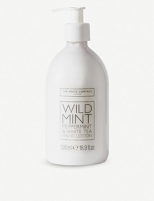 THE WHITE COMPANY: Wild Mint hand lotion 500ml