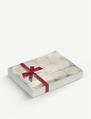 THE WHITE COMPANY Winter scented tea lights set of 12