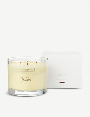 THE WHITE COMPANY Winter large mineral wax candle