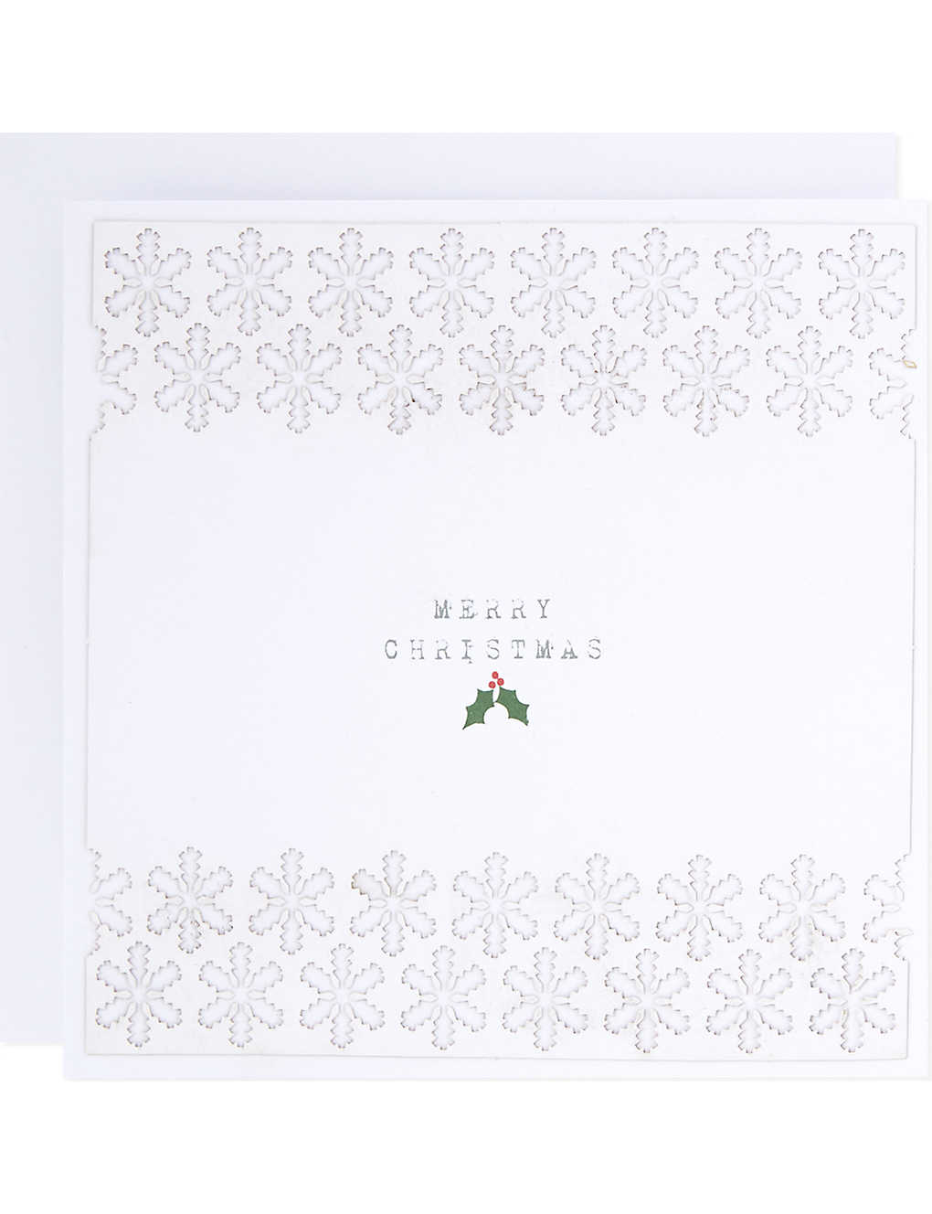 THE WHITE COMPANY - Christmas laser-cut cards set of 10