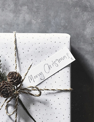 THE WHITE COMPANY Merry Christmas gift tags set of 10