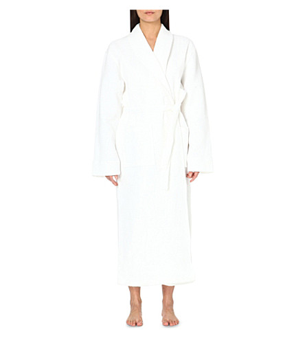 097fbbabd5 THE WHITE COMPANY - Unisex waffle cotton dressing gown