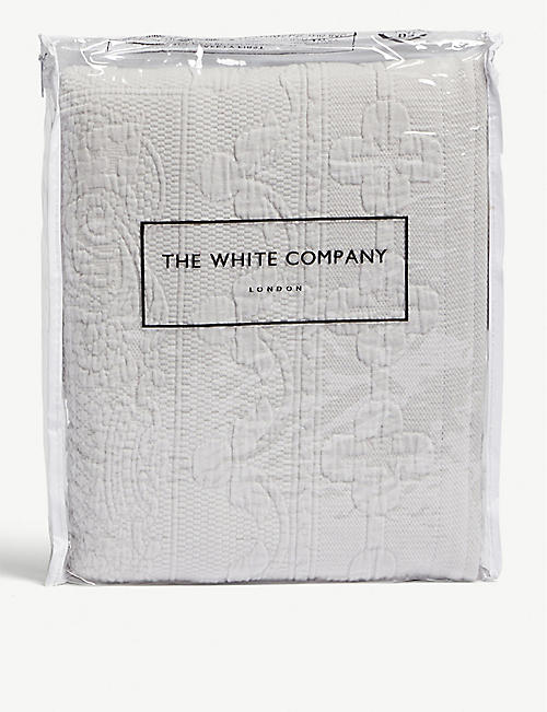 THE WHITE COMPANY Etienne cotton cushion cover