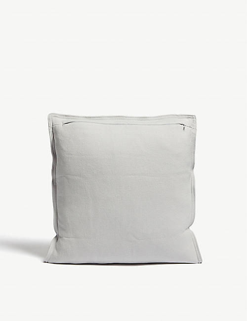 THE WHITE COMPANY Floral cotton cushion cover 40x40cm