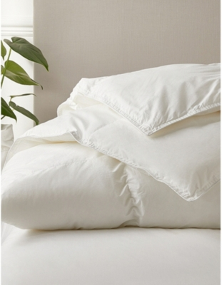 THE WHITE COMPANY Deluxe Down Alternative double cotton duvet